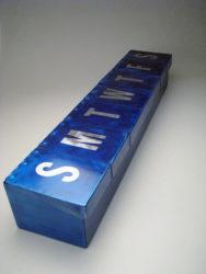 Big Metal Pill Box